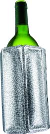 Vacuvin wijnkoeler Rapid Ice zilver