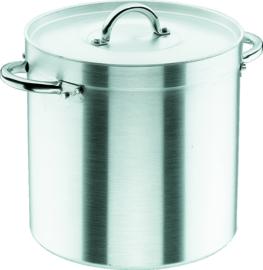 Kookpan aluminium met deksel 100 liter