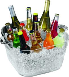 Wijnkoeler acryl Party