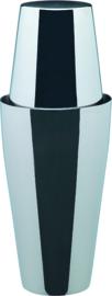 Boston shaker 2-delig r.v.s. 0,9 liter