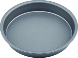 Bakvorm 20 cm carbon staal/anti-aanbak