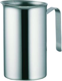 Melkkan 0,5 liter rvs 15,5 cm hoog