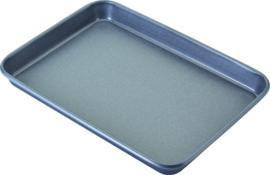 Bakplaat 35x25x3 cm carbon staal/anti-aanbak