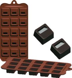 Chocoladevorm Blok silicone