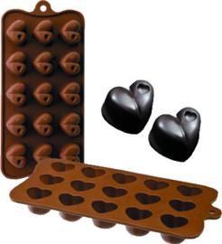 Chocoladevorm Hart silicone