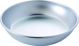 Schaal fruit de mer 40 cm aluminium