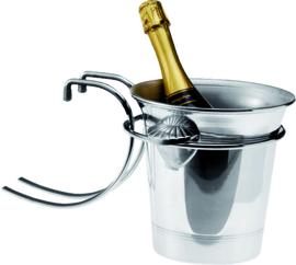 Tafelbeugel voor wijnkoeler verchroomd