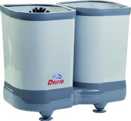 Glazenspoelborstel combinatie Delfin TS 2100 met wateraansluiting