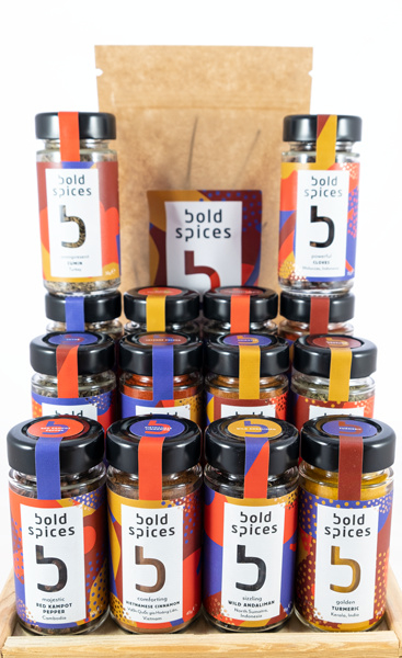 Alle Bold Spices-producten