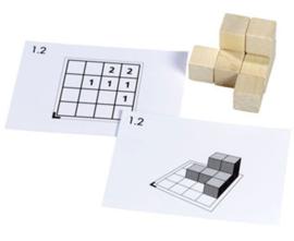 Opdrachtkaarten Cubi, 60 stuks