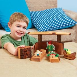 # Slaapkamer set van hout