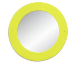# EduCasa spiegel rond limegroen 759066