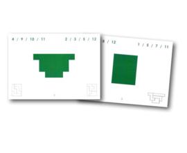 Pentominoes opdrachtkaarten set 3