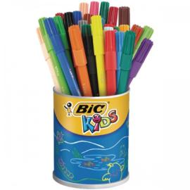 Kleurstiften Bic Kids Visa, 36 stuks