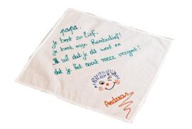 Zakdoek gebleekt
