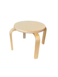 Kiban Kruk - zithoogte 28 cm - berken/wit hpl