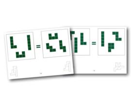 Pentominoes opdrachtkaarten set 4
