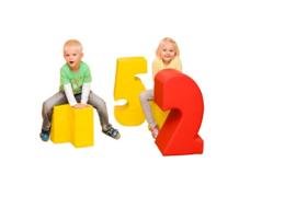 Softplay bouwset getallen 10-delig
