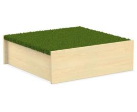 # Podiumdeel vierkant 75 x 75 cm, hoogte 24 cm