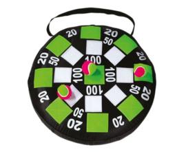 Opblaasbaar dartbord met klittenband
