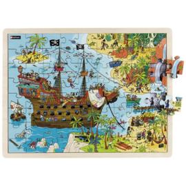 Puzzel De piraten, 72-delig