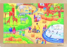 Puzzel De dierentuin, 24-delig