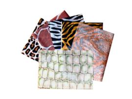 Zijdepapier safari, 20 vel ass, 50 x 75 cm