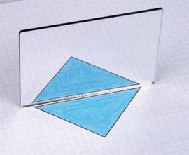 Geometrie spiegel, 25 stuks