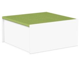 # Podiumdeel vierkant 75 x 75 cm, hoogte 36 cm