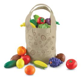 Tas incl. groente en fruit 16-delig