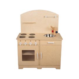 Keukenblok peuters witte grepen