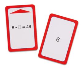 Magische hoed opdrachtkaarten, tafels van 6, 7, 8 en 9