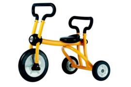 Pilot yellow tricycle 1 seat driewieler