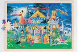 Puzzel - sprookjeskasteel, 192-delig