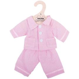 Pyjama roze gestreept 35 cm