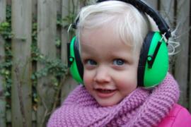 Gehoorbescherming groen (koptelefoon)