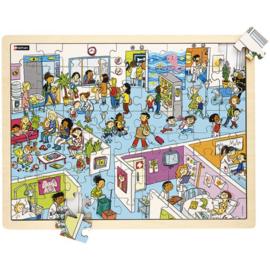 Puzzel Het ziekenhuis, 72-delig