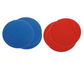 Cirkel matten, set van 6
