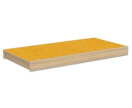# Podiumdeel rechthoek 75 x 150 cm, hoogte 12 cm