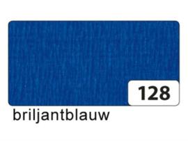 Crêpepapier blauw