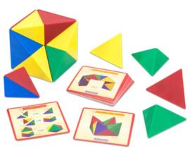 Mag Blocks, magnetische piramides, 24-delig