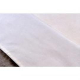 Recht laken  120 x 150 cm, wit
