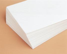 Tekenpapier wit 120 grams, 24 x 32 cm, 500 vel