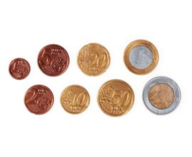 Euromunten, set van 300 munten