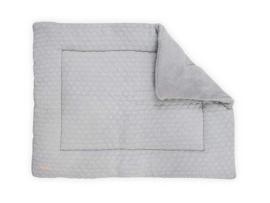 Boxkleed Fancy knit soft grey 80 x 100 cm