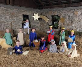 Verkleedkleding Kerst, 11-delig