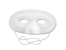 Halve witte maskers