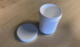 Lijmpotjes met schroefdop, set van 10