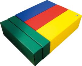 Softplay bouwstenen set E 5-delig