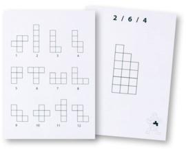 Pentominoes opdrachtkaarten set 1